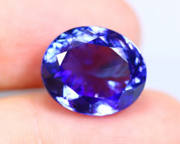 11.16cts Natural D Block Tanzanite Stone / T09 (Collection Grade)