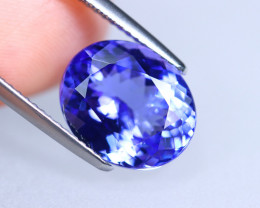 5.87cts Natural D Block Tanzanite Stone / T10 (Collection Grade)