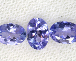 1.80CTS  TANZANITE  FACETED  STONE PARCEL  PG-3443