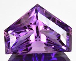 ~CUSTOM CUT~ 24.59 Cts Natural Purple Amethyst Fancy  550$