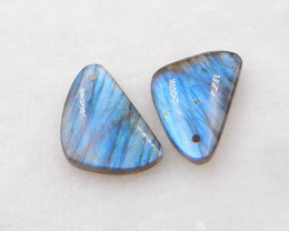27.5cts Labradorite Earrings gemstone earrings beads, stone for earring H19