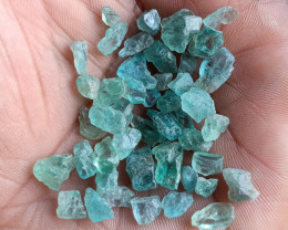 50 Ct Natural Apatite Rough Gemstone Wholesale Parcel VA5231