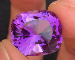 Amethyst17.70Ct Gorgeous Color Natural Amethyst Amethyst Faceted Amethys