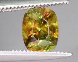 Sparkle 0.95 cts Eye Catching Chrome Sphene Ring Size