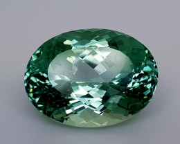 11.45Crt Green Spodumene Natural Gemstones JI10