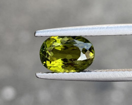 Natural Tourmaline 2.160 Cts Apple Green Color Gemstone