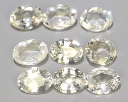 1.55 Cts~Beautiful Natural Gemstone white Sapphire Fine Oval Madagascar~