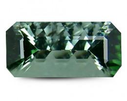No Reserve Tourmaline 1.13 Cts Green Quantum Cut BGC925