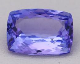 Tanzanite 3.50Ct VVS Octagon Master Cut Purplish Blue Tanzanite B2401