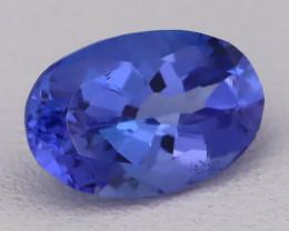Tanzanite 1.28Ct VVS Flawless Oval Master Cut Vivid Blue Tanzanite B2405