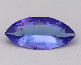 Tanzanite 1.72Ct VVS Flawless Marquise Cut Vivid Blue Tanzanite B2408