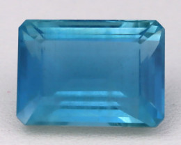 Aquamarine 7.63Ct Octagon Cut Natural Greenish Blue Aquamarine B2410