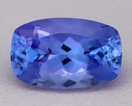 Tanzanite 1.39Ct VVS Octagon Master Cut Vivid Blue Tanzanite B2411