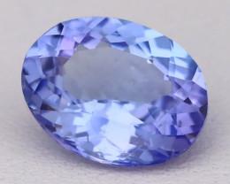 Tanzanite 2.30Ct VVS Oval Master Cut Natural Purplish Blue Tanzanite B2412