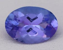 Tanzanite 1.57Ct VVS Natural Oval Master Cut Vivid Blue Tanzanite B2417