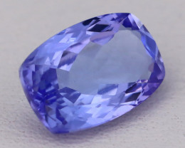 Tanzanite 2.19Ct VVS Natural Octagon Cut Vivid Blue Tanzanite B2420