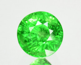 1.01Ct Natural Tsavorite Green Round 5.50mm Kenya