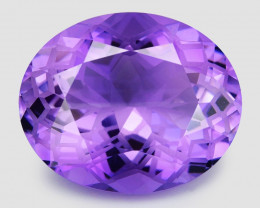 *NoReserve*Amethyst 15.62 Cts Natural Purple Color Gemstone