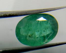 2.89cts  Quality Zambian Emerald , 100% Natural Gemstone