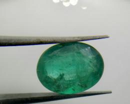 2.80cts  Quality Zambian Emerald , 100% Natural Gemstone