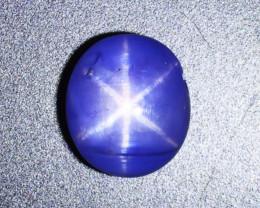 5.48 CT BLUE SAPPHIRE STAR 100% NATURAL UNHEATED AIG CERTIFIED