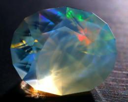 10.58Ct ContraLuz Phantom Ghost Flash Opal Ethiopian Precision Cut A2506