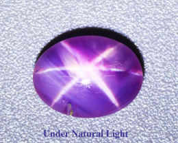 2.070 CT STAR RUBY UNHEATED 100% NATURAL BURMESE