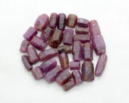 400 Cts Beautiful Ruby Crystals From Tanzania