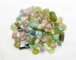 200 Ct Mix Rough Tourmaline From Afghanistan