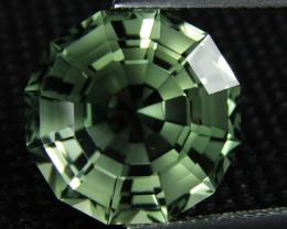 10.90Cts Stunning Natural Green Amethyst (prasiolite) Octagonal Cut Ref VDO