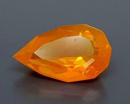 1.82CT FACETED FIRE OPAL BEST QUALITY GEMSTONE IIGC16