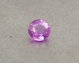 0.58ct unheated pink sapphire