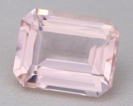 3.02Ct Morganite VVS Sweet Pink Beryl Color Natural Madagascar C2603