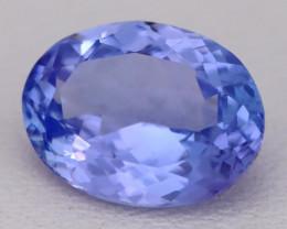 Tanzanite 2.50Ct VVS Flawless Oval Master Cut Vivid Blue Tanzanite C2605