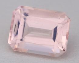 2.44Ct Morganite VVS Sweet Pink Beryl Color Natural Madagascar C2606