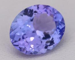 Tanzanite 2.09Ct VVS Flawless Oval Master Cut Vivid Blue Tanzanite C2607