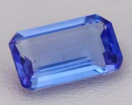 Tanzanite 2.15Ct VVS Flawless Octagon Cut Vivid Blue Tanzanite C2609