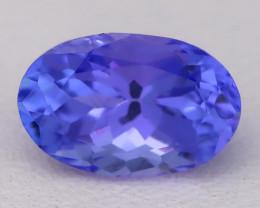 Tanzanite 1.68Ct VVS Flawless Oval Master Cut Vivid Blue Tanzanite C2610