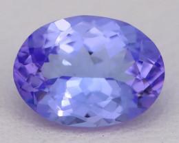 Tanzanite 1.72Ct VVS Oval Master Cut Natural Purplish Blue Tanzanite C2616