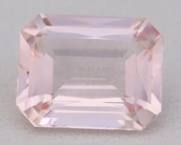 2.52Ct Morganite VVS Sweet Pink Beryl Color Natural Madagascar C2620