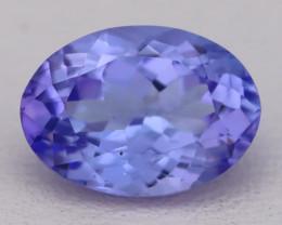 Tanzanite 2.42Ct VVS Flawless Oval Master Cut Vivid Blue Tanzanite C2621