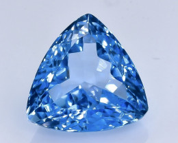 11.79 Crt Natural Topaz Faceted Gemstone.( AB 7)
