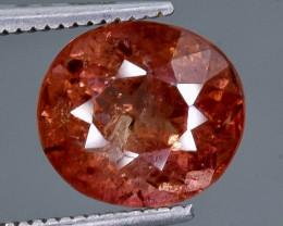 3.71 Crt Natural Tourmaline  Faceted Gemstone.( AB 7)