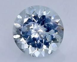 1.78 Crt Natural  Aquamarine Faceted Gemstone.( AB 7)
