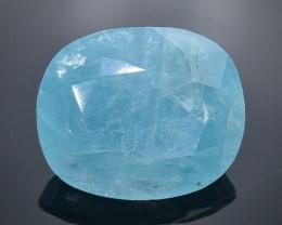 8.07 Crt Natural Grandidierite  Faceted Gemstone.( AB 7)