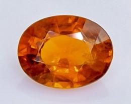1.73 Crt Natural  Spessartite Garnet Faceted Gemstone.( AB 7)