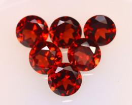 Almandine 3.65Ct 6Pcs Natural Vivid Blood Red Almandine Garnet E0109/B1