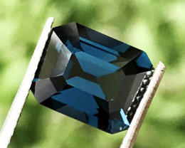 3.96 CT SPINEL PRUSSIAN BLUE 100% IF CLEAN NATURAL UNHEATED SRI LANKA