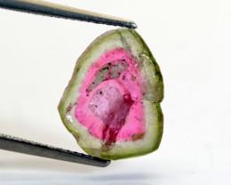 5.00 CT Watermelon Tourmaline Slice -IM38