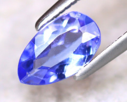 Tanzanite 0.75Ct Natural VVS Purplish Blue Tanzanite E0308/D3